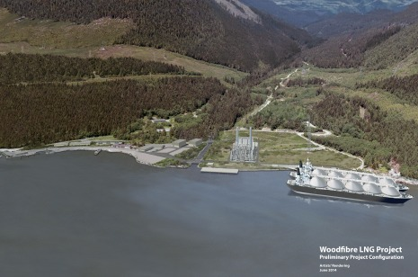 Woodfibre LNG Project Rendering June 2014